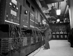 История вычислительных машин Eniac